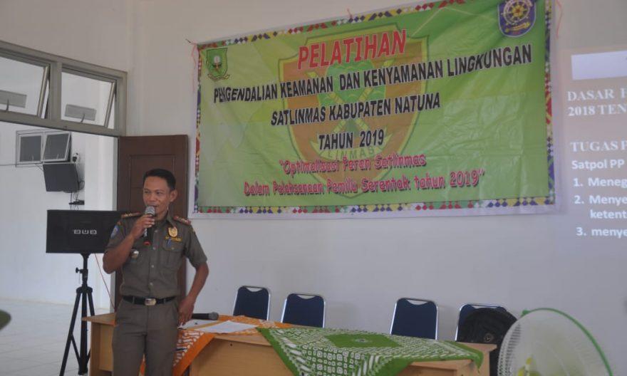 Satpol Pp Natuna Beri Pelatihan Dan Pembinaan Bagi Satlinmas Harian Metropolitan