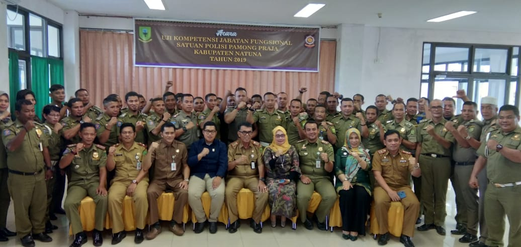 Satpol Pp Kabupaten Natuna Adakan Kegiatan Uji Kompetensi Jabatan Fungsional Harian Metropolitan